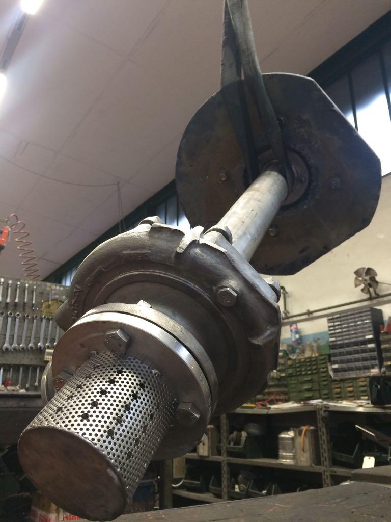 Manutenzione pompa Finder
