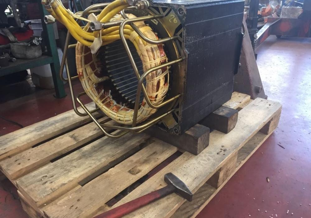 Motore Brushless in lavorazione