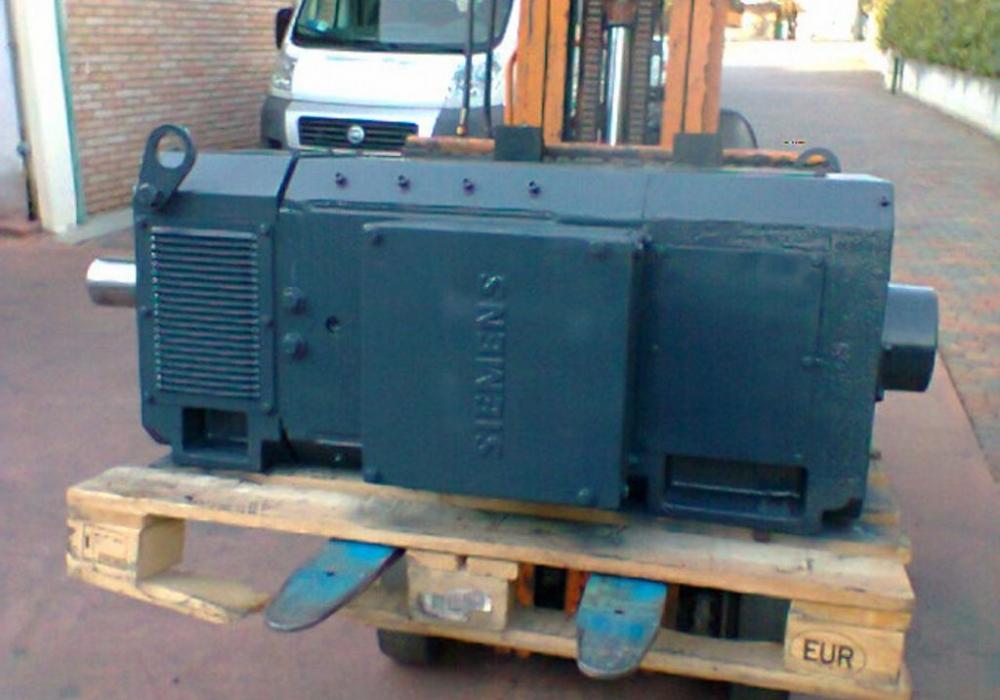 Motore Siemens C.C. Kw 350