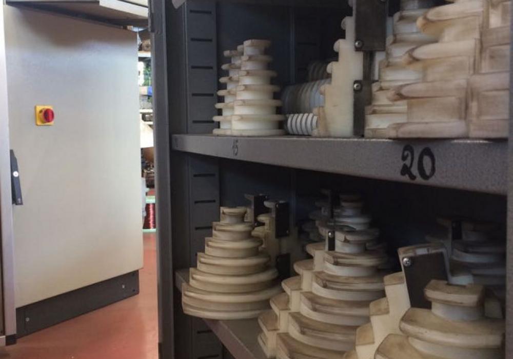 Forme per bobinatrice automatica